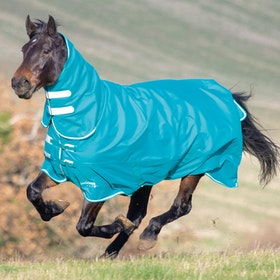 Shires Tempest Plus 200g Combo Turnout Rug - Teal