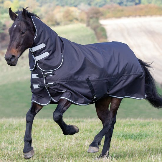 Shires Tempest Plus 300g Combo Turnout Rug