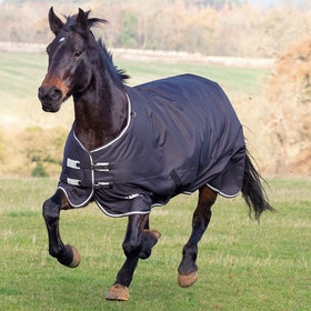 Shires Tempest Plus 300 Turnout Rug - Black