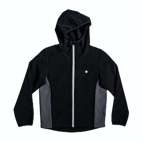 Quiksilver Hobart Depth Boys Softshell Jacket - Black