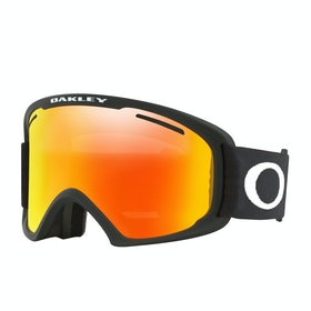 Oakley O Frame 2.0 Pro Xl Snow Goggles - Black ~ Fire Iridium & Persimmon