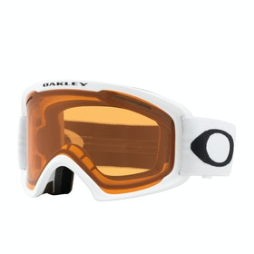 Oakley O Frame 2.0 Pro Xl Snow Goggles - White ~ Persimmon & Dark Grey