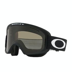 Oakley O Frame 2.0 Pro XM Snow Goggles - Matte Black ~ Dark Grey & Persimmon