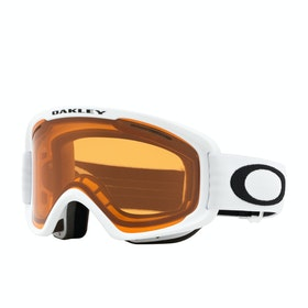 Oakley O Frame 2.0 Pro XM Snow Goggles - Matte White ~ Persimmon & Dark Grey