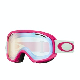 Maschere da Neve Oakley O Frame 2.0 Pro XM - Strong Red Jasmine ~ Hi Yellow Iridium & Dark Grey