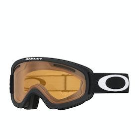 Oakley O Frame 2.0 Pro XS Snow Goggles - Matte Black ~ Persimmon & Dark Grey