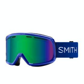 Smith Range Snow Goggles - Klein Blue - Green Sol-x Mirror
