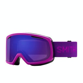 Smith Riot Womens Snow Goggles - Fuchsia - Chroma Pop Everyday Violet Mirror