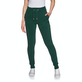 Superdry Raven Slim Womens Jogging Pants - Green