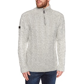 Sweat Superdry Jacob Henley - Concrete Twist
