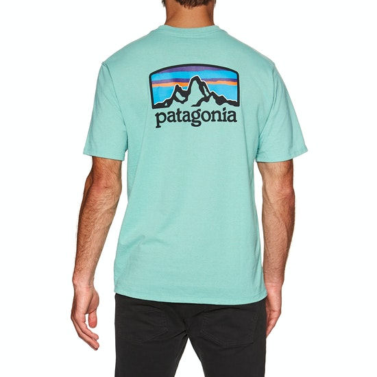T-Shirt à Manche Courte Patagonia Fitz Roy Horizons Responsibilitee