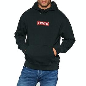 Pullover con Cappuccio Levi's Oversized Graphic JT - Boxtab Po Mineral Black