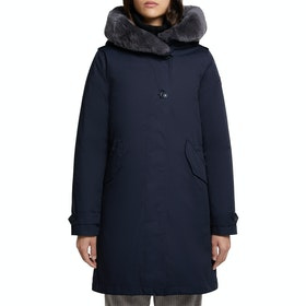 Woolrich Literary Rex Parka Women's Jacket - Dark Navy