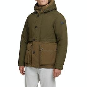 Woolrich Teton Anorak Jacket - Greenstone