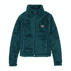 Billabong First Chair Full Zip Girls Fleece - Eclipse