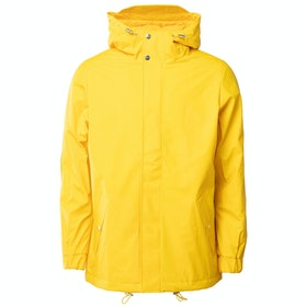 Rains Quilted Parka Jacke - Yellow