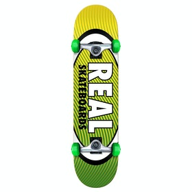 Skateboard Enfant Real Team Oval Heatwave - Green Yellow