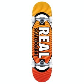 Skateboard Enfant Real Team Oval Heatwave - Yellow Red