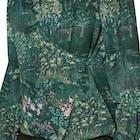 Ted Baker Thessie Diamond Pintuck Wrap Blouse Women's Shirt