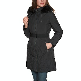 Ted Baker Winiy Quilted Effect Padded Womens Bunda - Black