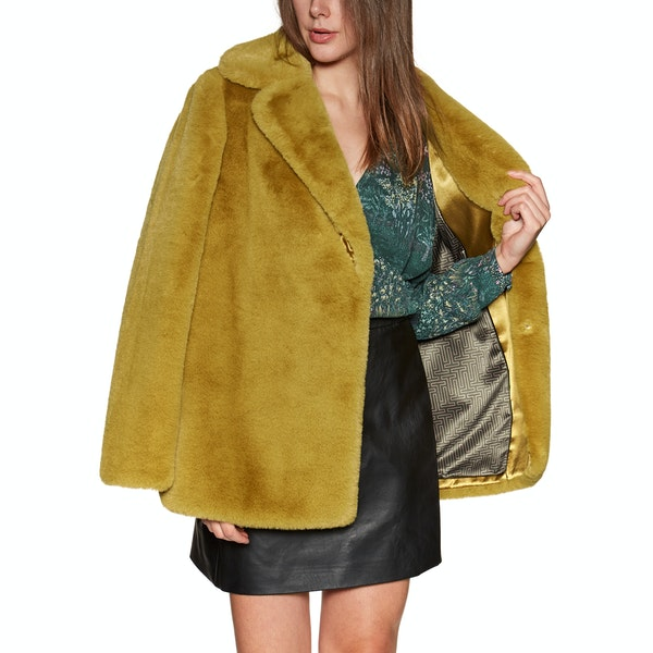 Ted Baker Zenna Bright Faux Fur Womens Bunda