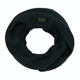 EA7 Mountain Knit Scarf - Notte