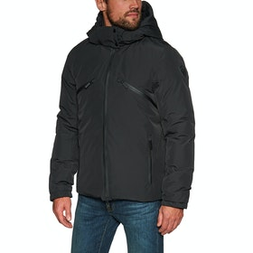 Nobis Oliver Waterproof Reversible Modejakke - Black