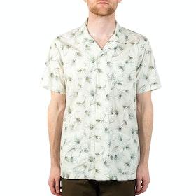 Kestin Sea Cliff Short Sleeve Shirt - Off White Olive