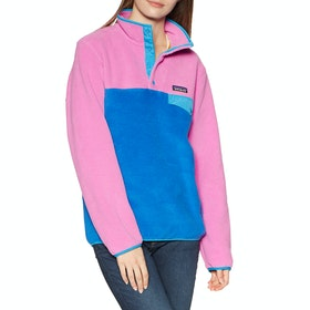 Polaire Femme Patagonia Lightweight Synchilla Snap T - Marble Pink