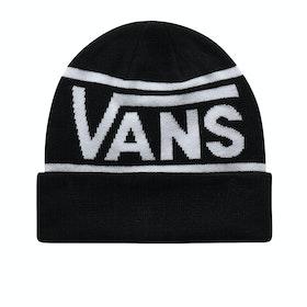 Vans Drop V Stripe Cuff Beanie - Black