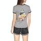 Volcom Go Faster Ringer Dames T-Shirt Korte Mouwen