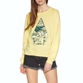 Volcom Sound Check Fleece Womens Sweater - Faded Yellow