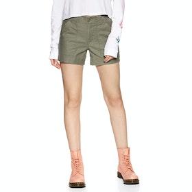 Volcom Army Whaler , Shorts Kvinner - Army Green Combo