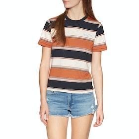 Volcom Chromatic , Kortermet t-skjorte Kvinner - Burnt Orange