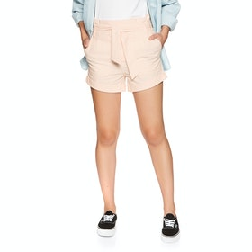 Volcom Paper Bag , Shorts Kvinner - Light Peach
