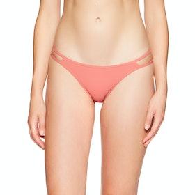 Bas de maillot de bain Femme Volcom Simply Rib Hipster - Reef Pink