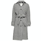 Tommy Hilfiger Houndstooth Wool Blend Women's Jacket