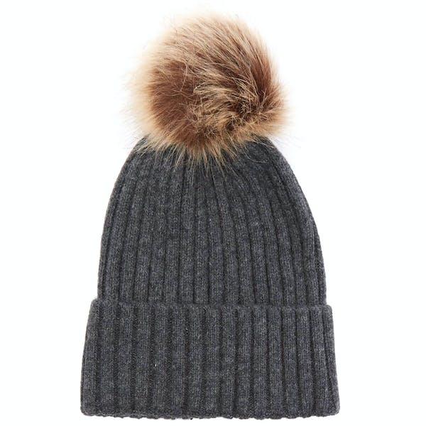 Gorro Senhora Christys Hats Wool Cashmere Blend Pom