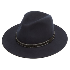 Cappello Donna Christys Hats Cotswold Fedora - Navy