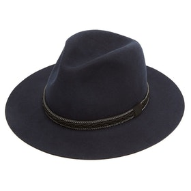 Christys Hats Cotswold Fedora Women's Hat - Navy