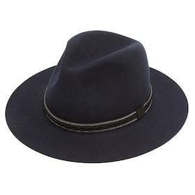 Christys Hats Cotswold Fedora Damen Hut - Navy