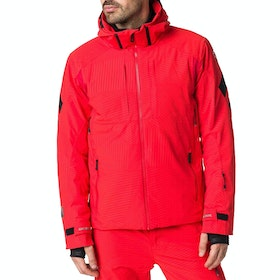 Rossignol Aeration Men's Snow Jacket - Crimson