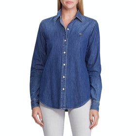 Lauren Ralph Lauren Jamelko Shirt - Bright Medium Wash