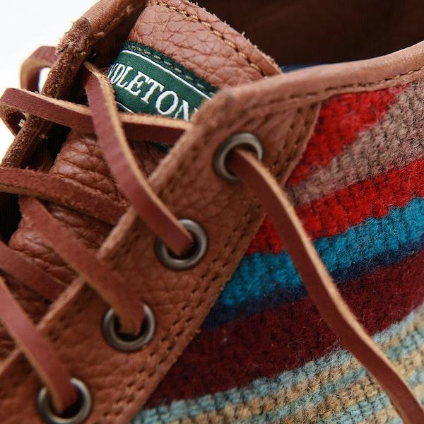 Sebago X Pendleton Seneca Tumb Wool Boots