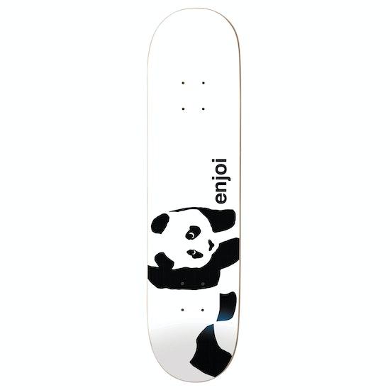 Enjoi Whitey Panda Logo Wide R7 8.25 Inch Skateboard Deck