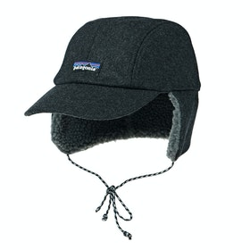 Casquette Patagonia Recycled Wool Ear Flap - Forge Grey