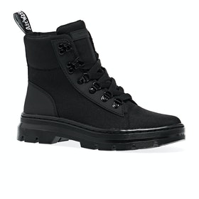 Dr Martens Combs Waterproof Womens Boots - Black Ajax