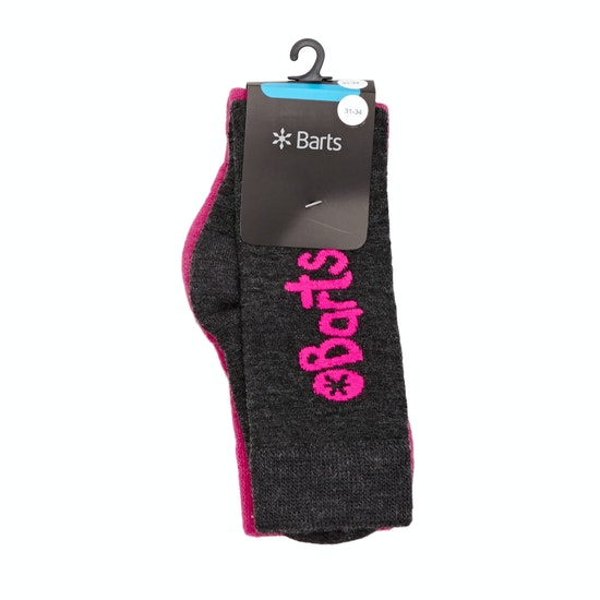 Barts Basic Kids 2 Pack Girls Snow Socks