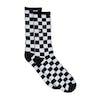 Chaussettes Vans Checkerboard Crew - Black White Check