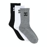DC SPP Crew 3 Pack Fashion Socks - Assorted